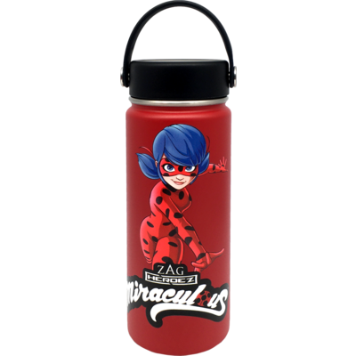 Miraculous Water Bottle MEDIUM-RED