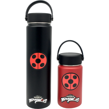 Miraculous Water Bottle SMALL-RED