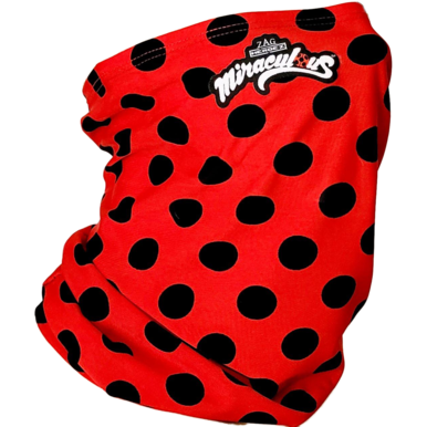 Miraculous Ladybug Face Neck Gaiter Cover - UNISEX