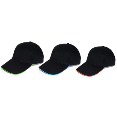 LED Carapace Embroidered Cap