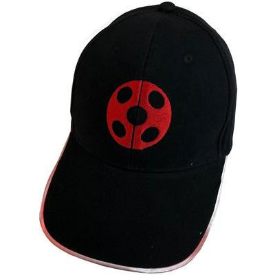 Hat LED Ladybug Embroidered