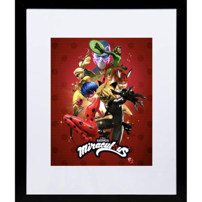 Miraculous Licensed Framed Poster | Ready to Hang