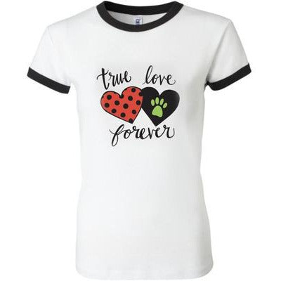 TRUE LOVE RINGER TEE