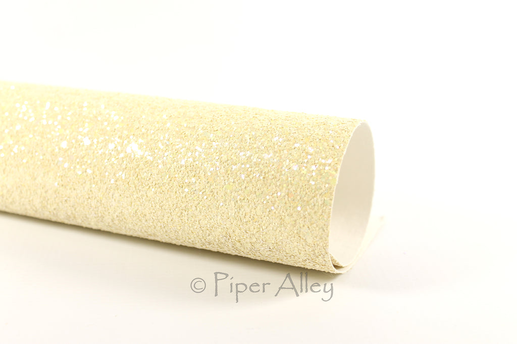 Iridescent Chunky Glitter Fabric Sheets