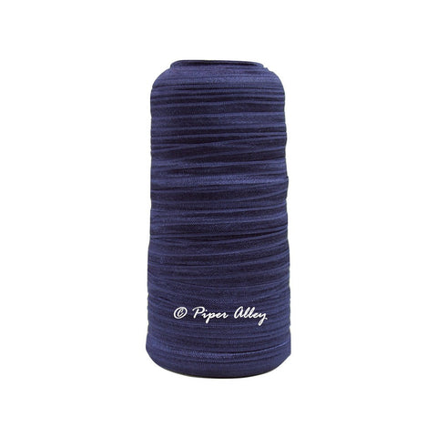 "Navy Blue 5/8"" FOE Solid 5 yards"