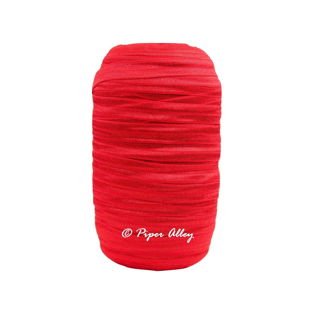 "Red 5/8"" FOE Solid 5 yards"
