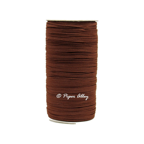 "Friar Brown Skinny Elastic 1/8"" 5 yards"