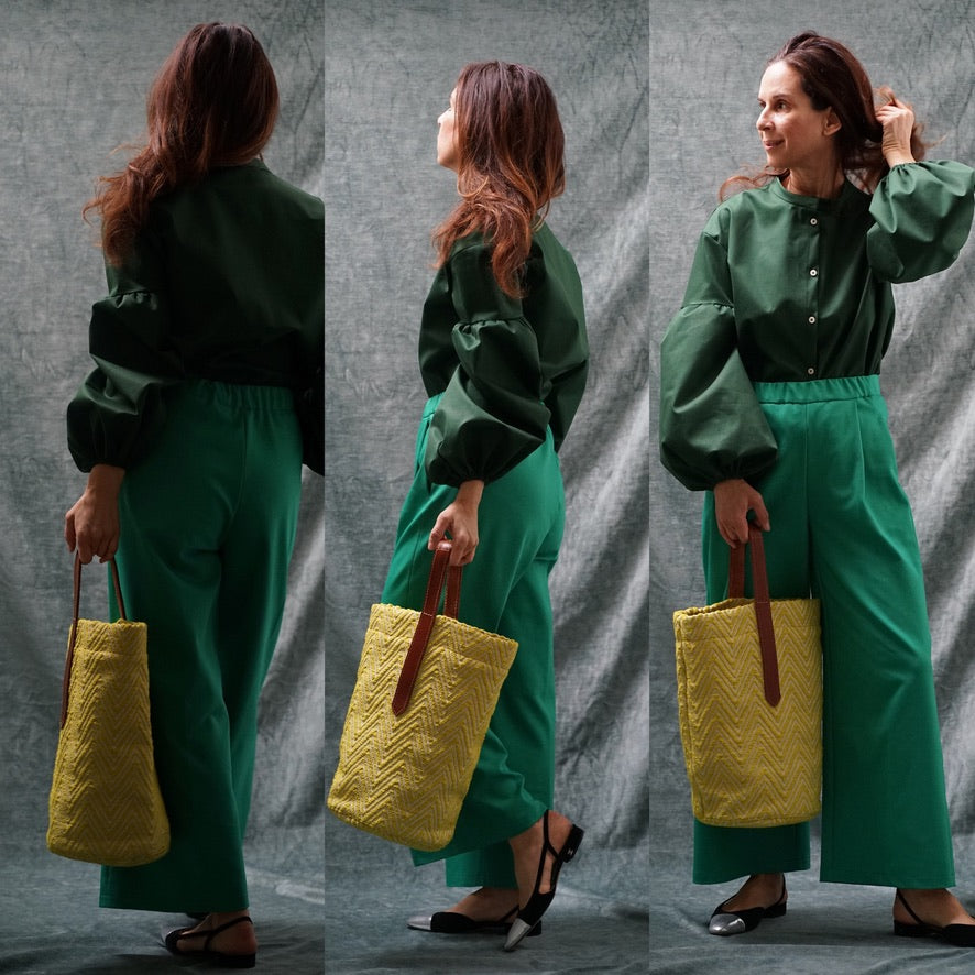 "Large Tote ""yellow"""