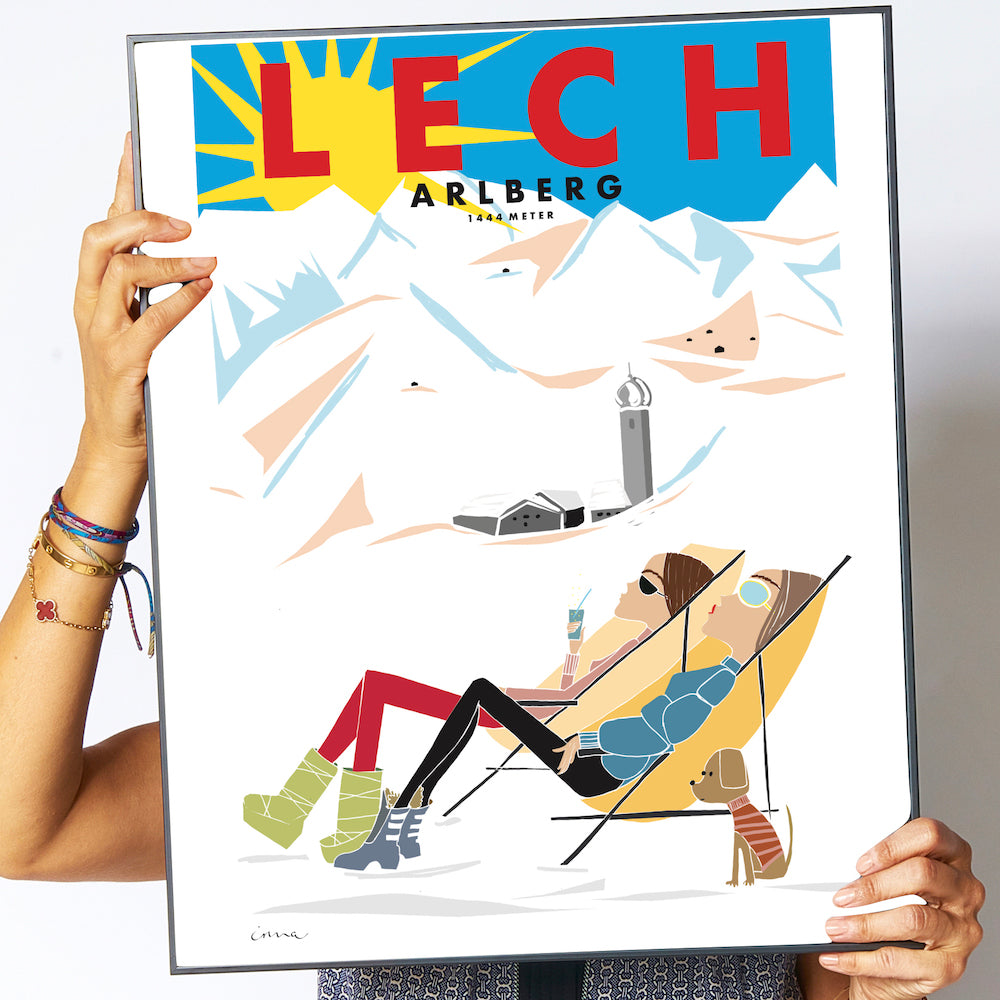 "Travel Poster ""Lech"""