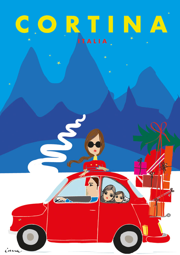 "Travel Poster ""Cortina"""