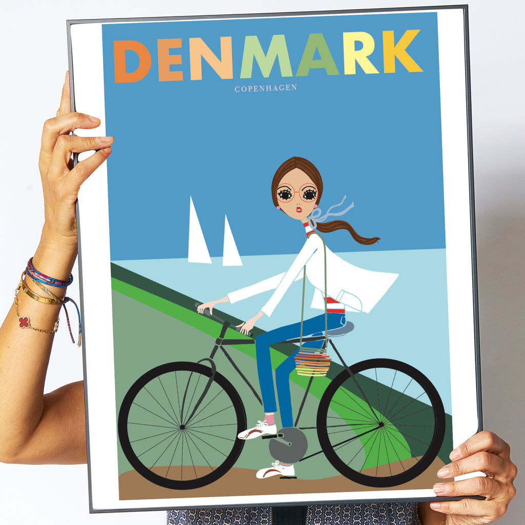 "Travel Poster ""Denmark"""