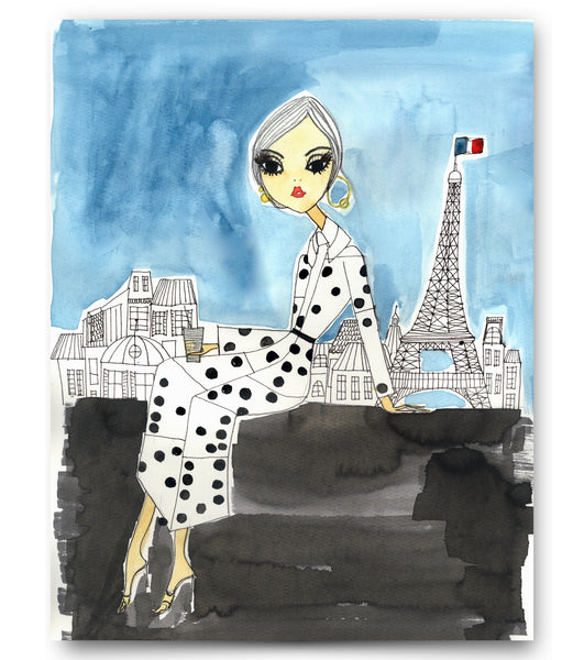 "IRMA art print ""Paris Coffee Break"""