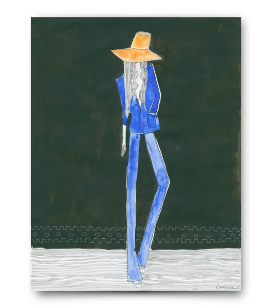 "IRMA art print ""Saint Laurent Museum"""