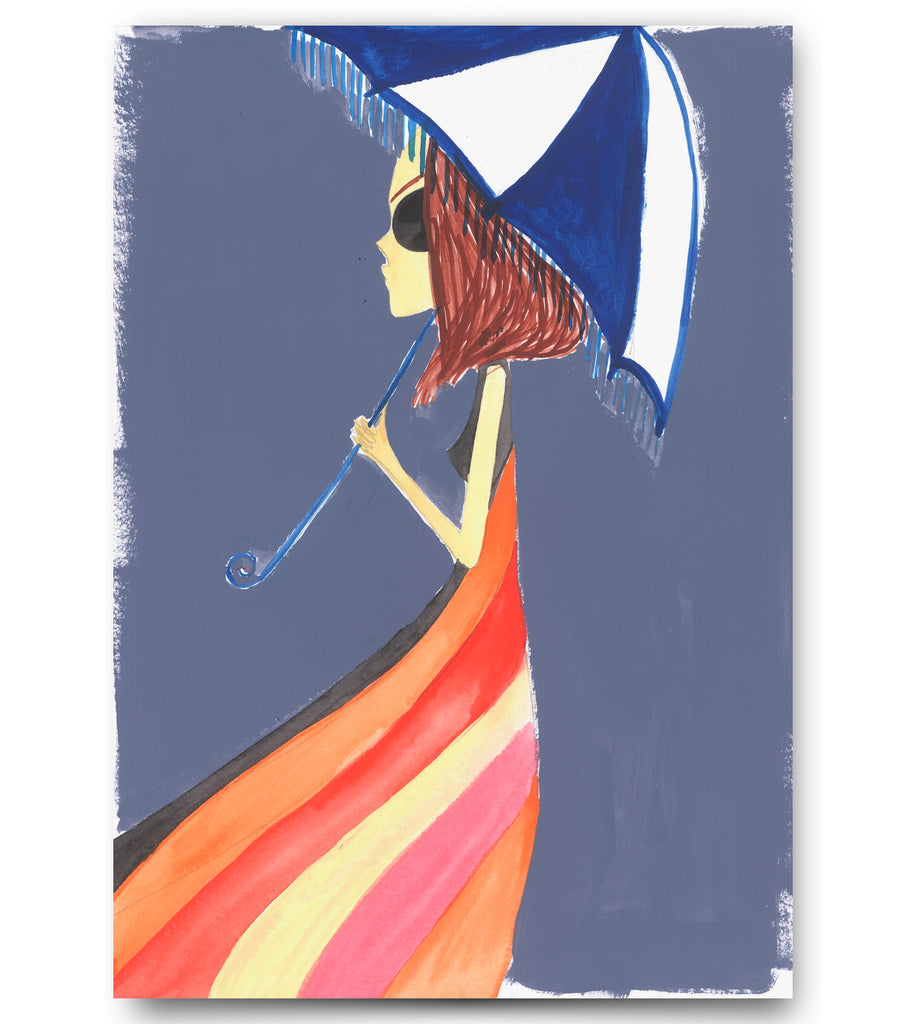 "IRMA Art print. ""Hermès Dress"""