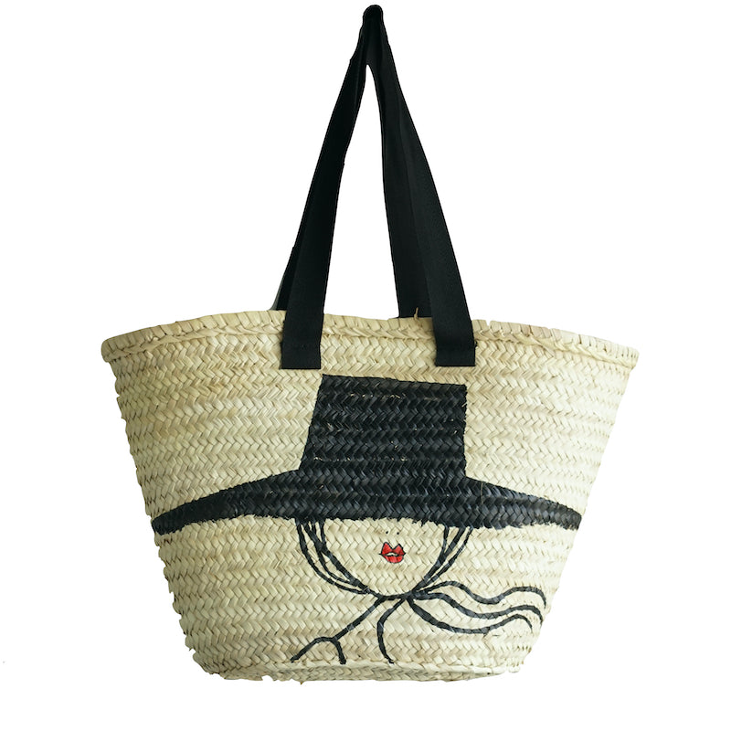 "Large Shopper ""IRMA with hat"""