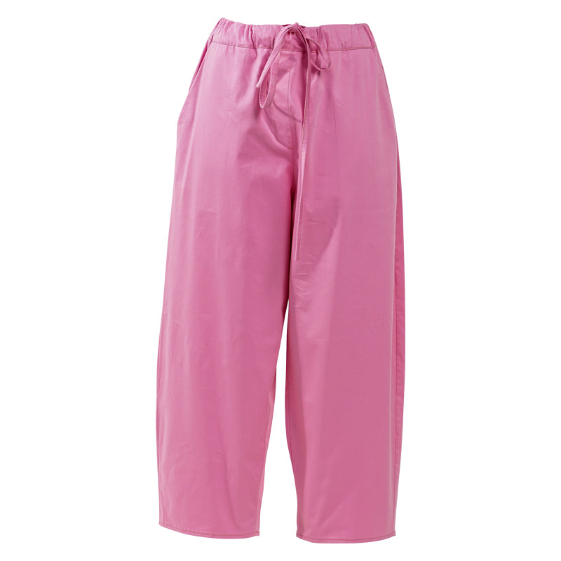 IRMA Travel Collection pale pink cotton pants