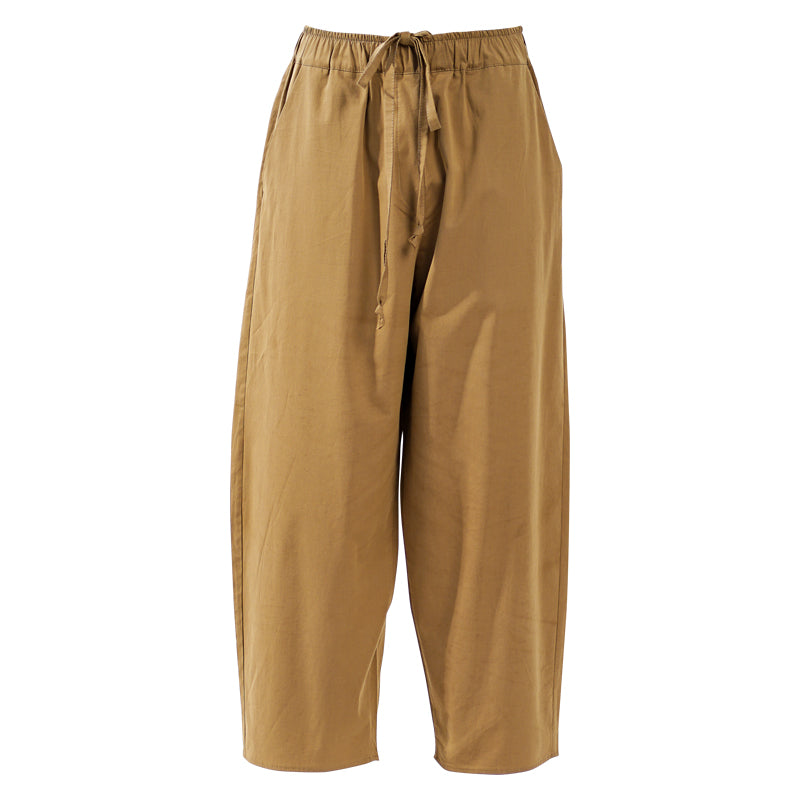 Travel Collection olive cotton pants