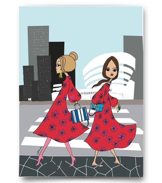 "IRMA art print ""Same Dress"""