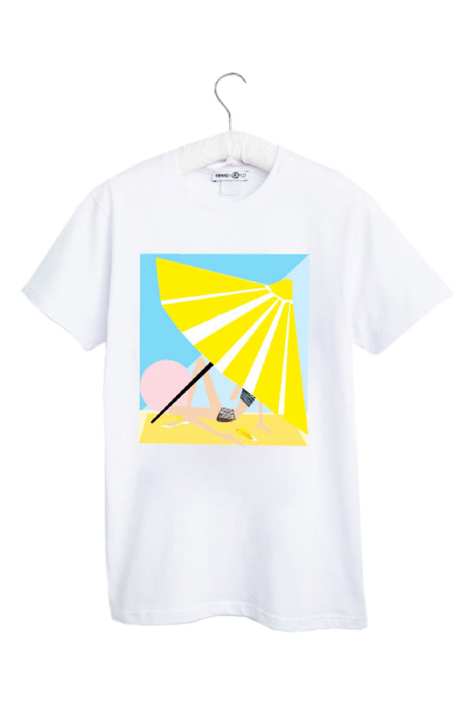 "T-Shirt. ""IRMA in yellow"""