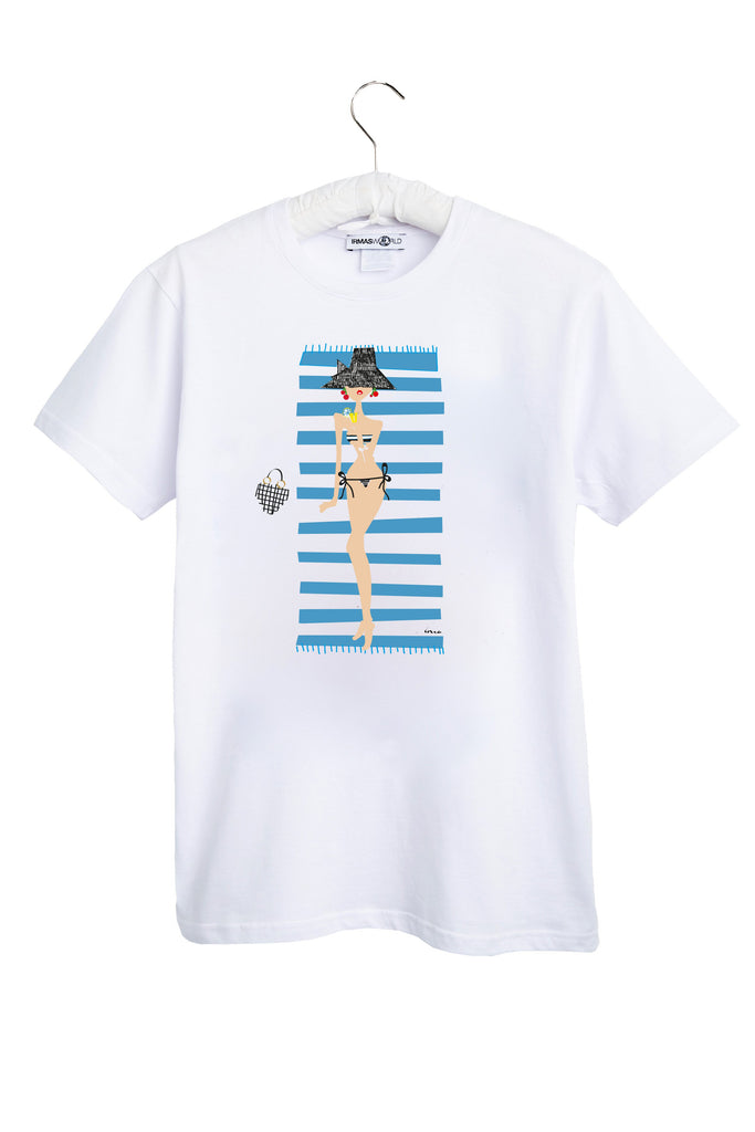 IRMA T-Shirt. IRMA in summer stripes