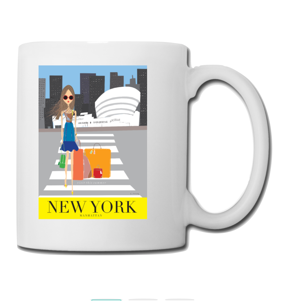 "Mug: Travel Poster - ""New York"""