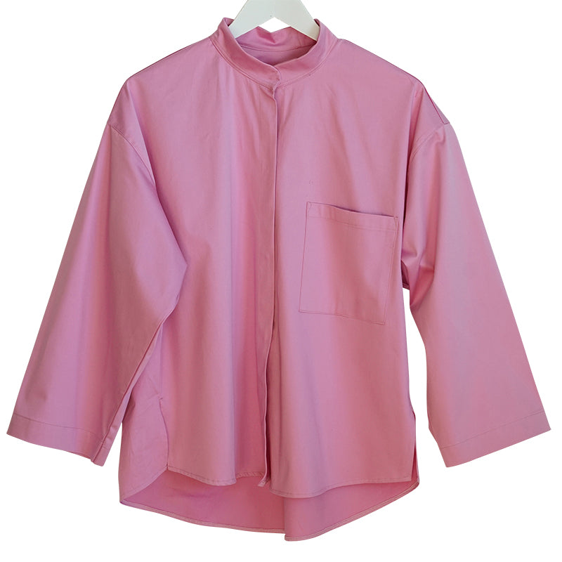 IRMA Travel Collection pale pink shirt