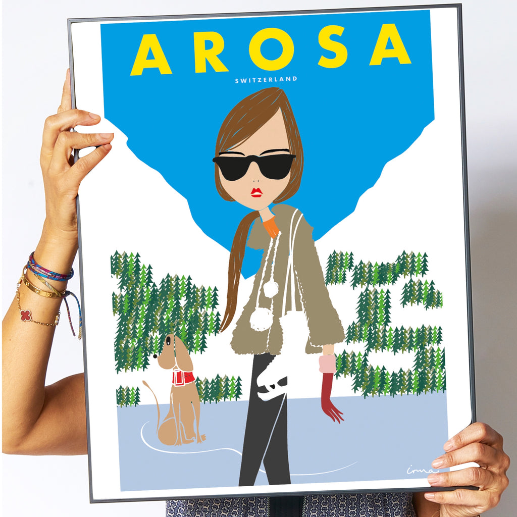 "Travel Poster ""Arosa"""