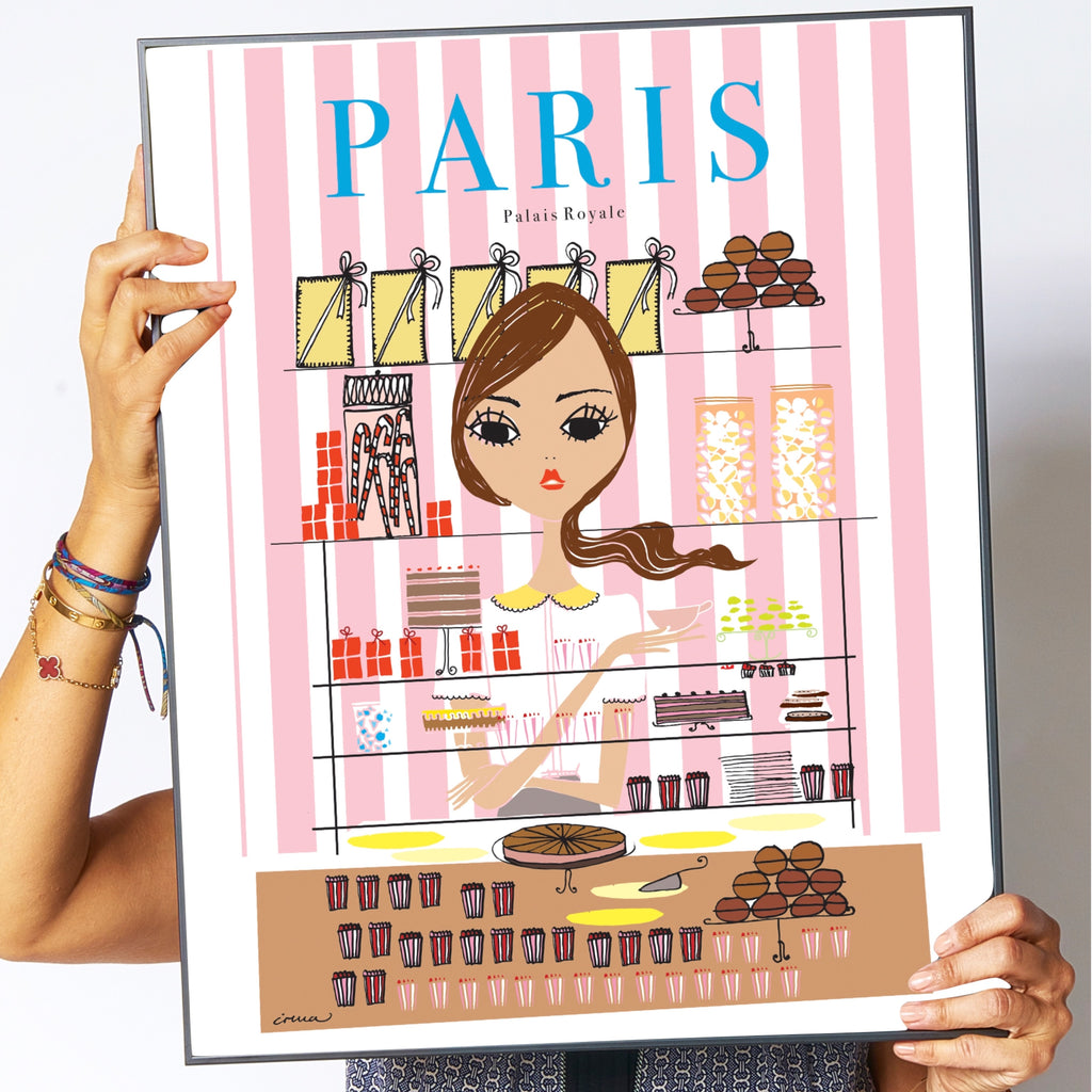"Travel Poster ""Paris"""