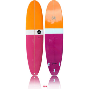 ABC Gambler Minimal - Orange / Purple - 7'6
