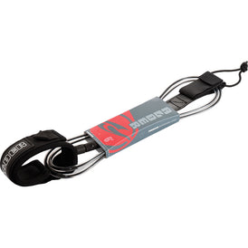 Alder 6ft Surfboard Leash - Black