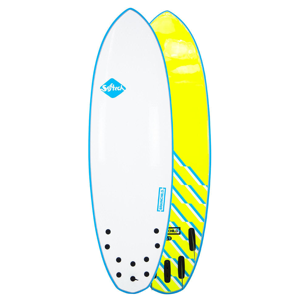 Softech Brainchild - 5'8 Blue Wave