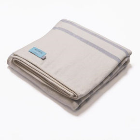 Atlantic Blankets - Grey Stripe