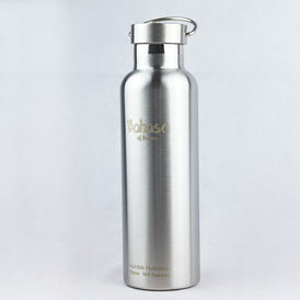 Bahasa 750ml Insulated Water Bottle - Medewi Grey