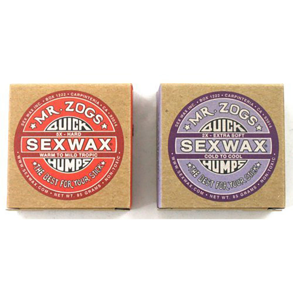Sex Wax Quick Humps - Cold Pack of 1 Wax and 1 Base