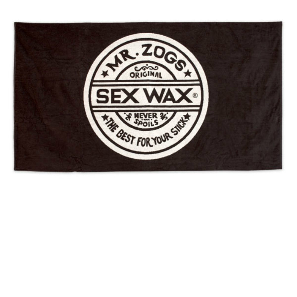 Sex Wax Towel - Black