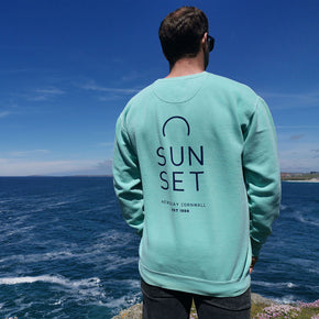 Sunset Surf Crew - Chalky Mint