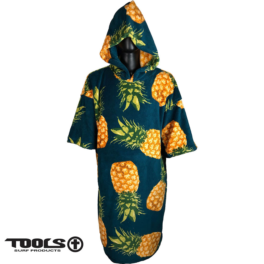 TLS Microfibre Surf Robe - Pineapple Design