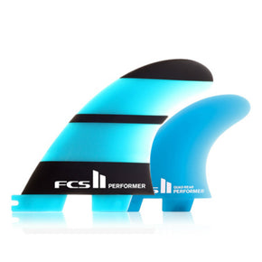 FCS II Performer Neo Glass Tri / Quad Fins - Sunset Surf Shop
