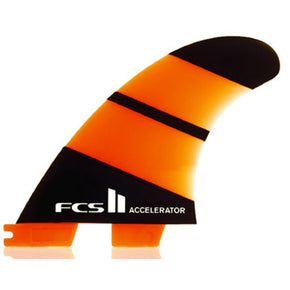FCS II Accelerator Neo Glass Thruster Fins - Sunset Surf Shop
