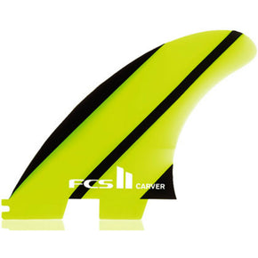 FCS II Carver Neo Glass Thruster Fins - Sunset Surf Shop
