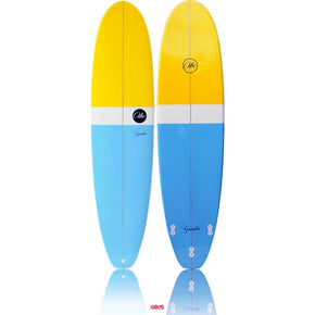 ABC Gambler Longboard - Yellow / Blue - 9'2