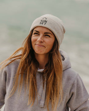 Sunset Surf Beanie - Oatmeal