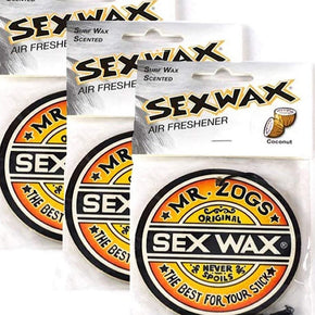 Sex Wax Air Freshener - 3 Pack Coconut