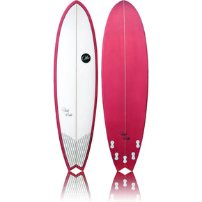 ABC Fish Cake - 6'6 White / Purple