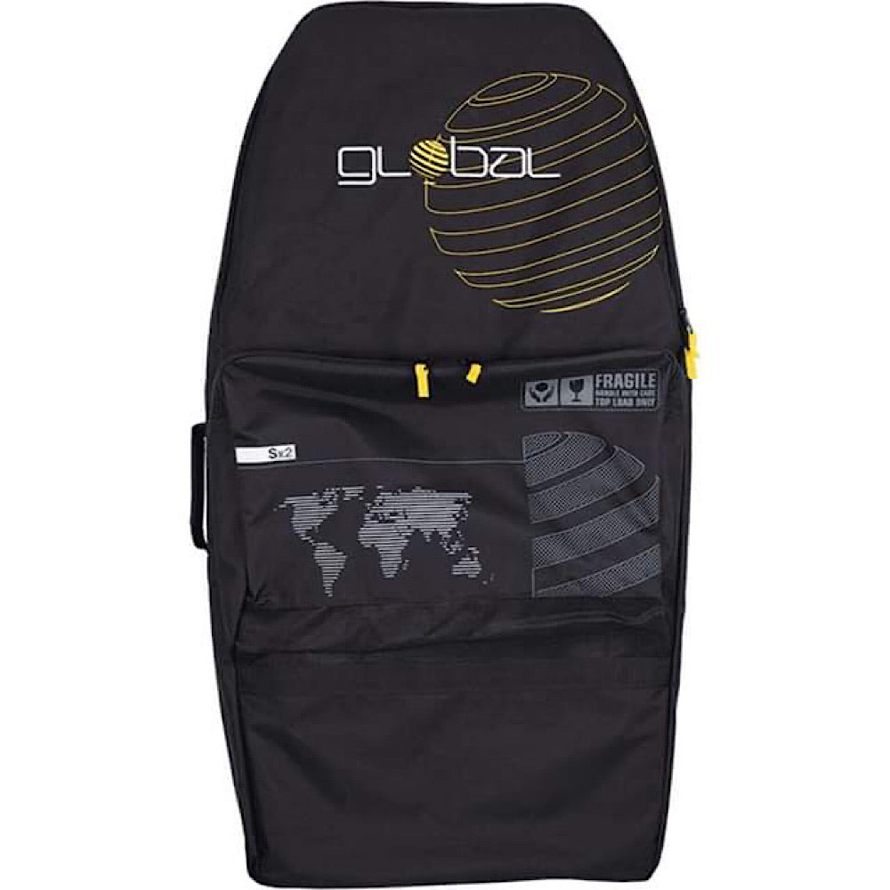Global Bodyboard Bag - System 2 - Black/Yellow