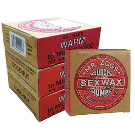 Sex Wax Quick Humps - Warm Water Pack of 4