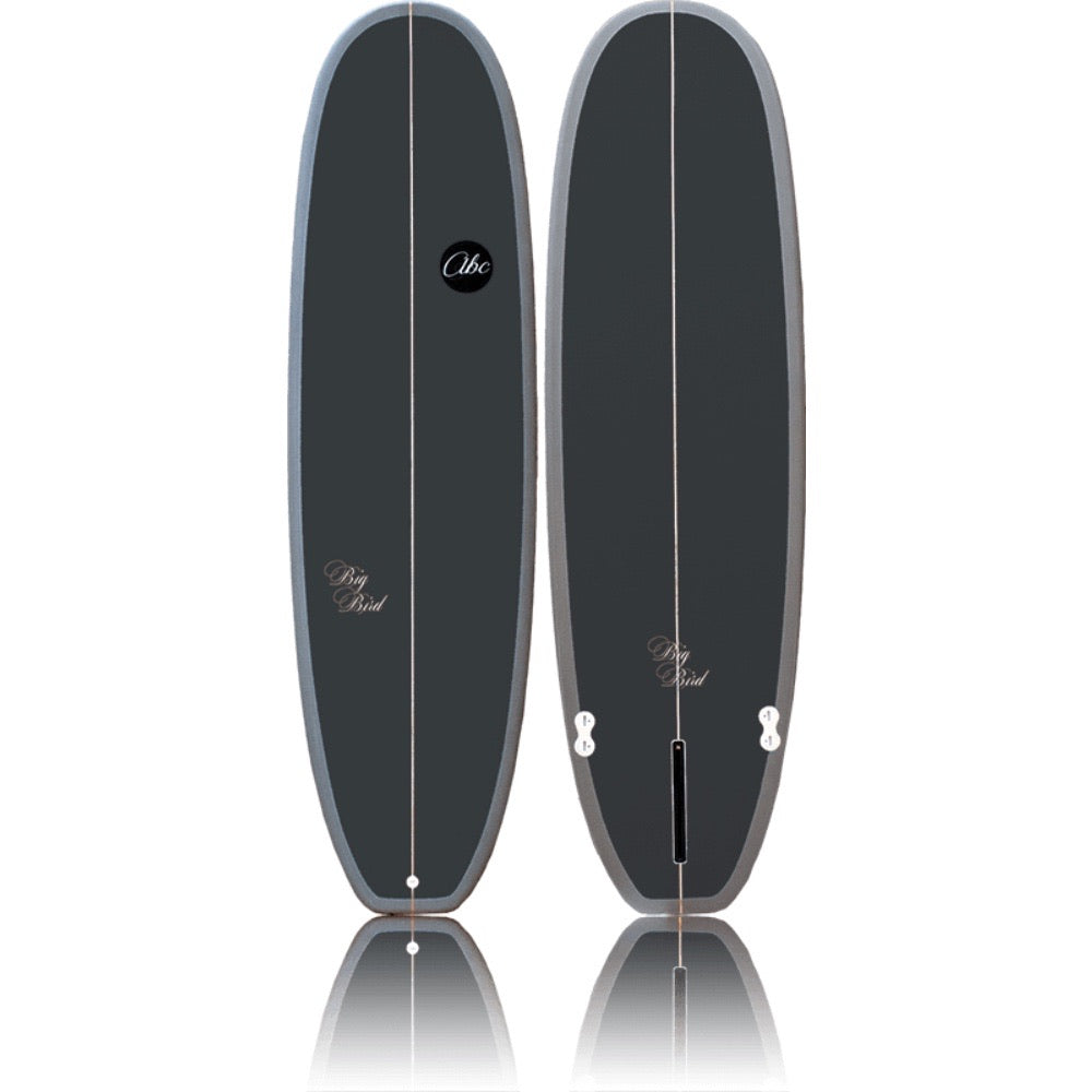 "ABC Big Bird 7'0"" Mid-Length - Light/ Dark Grey"