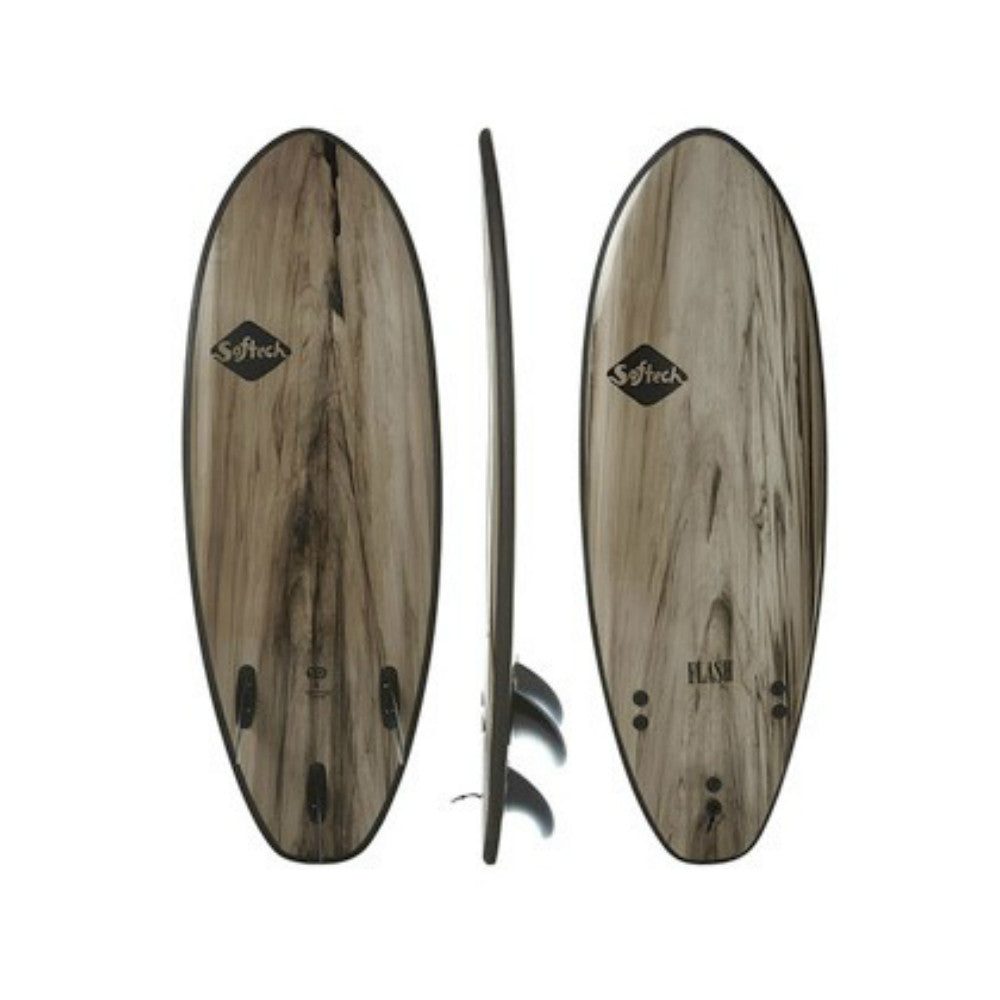 Softech Flash - 5'7 - Black Marble - Sunset Surf Shop