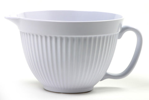 Norpro 3 Qt Batter Bowl White