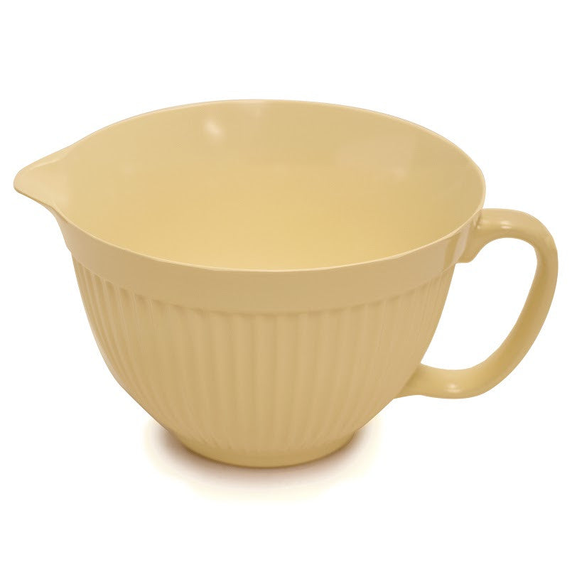 Norpro 4 Qt Batter Bowl Butter Yellow